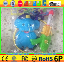 Funny Summer Toy Backpage Elephant Water Gun Backpage Pump Water Gun Toy