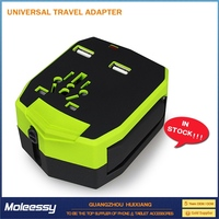 Perfect design 2 multi port usb travel adapter