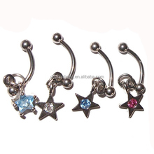 Eyebrow Piercing16g Dangle Eyebrow Ring