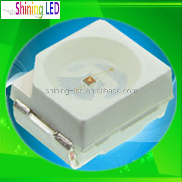 PLCC Top View 20mA 3528 SMD LED Red Yellow