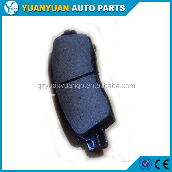 chevrolet trailblazer auto parts 19122385 rear brake pad for chevrolet trailblazer 2002 - 2004