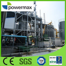 small scale CHP biomass gasification power generator