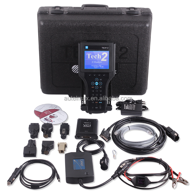 Auto Diagnostic Tool Tech2 GM Tech2 for GM/SAAB/OPEL/SUZUKI/ Holden GM Scanner