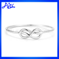 thin 925 silver infinity knot ring wholesale