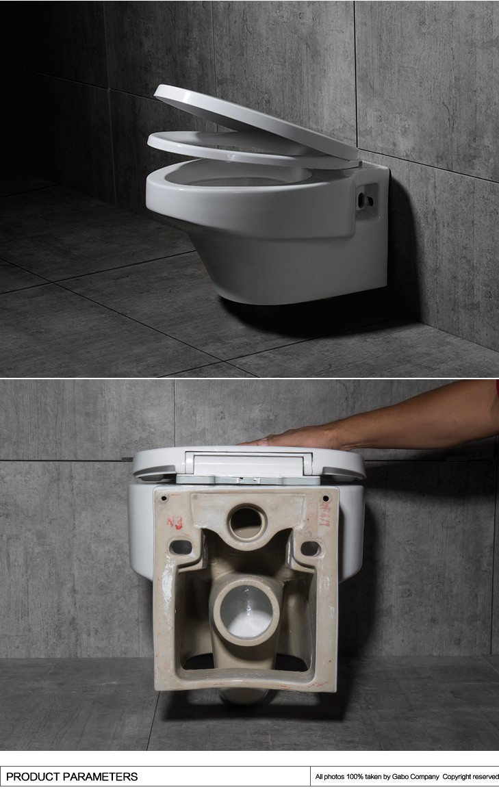 Wall Mounted Pressure Assisted Toilets