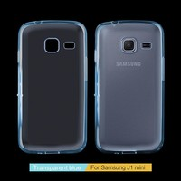 Factory Wholesale Crystal Transparent Soft TPU Phone Case For Samsung Glalaxy J1 Mini