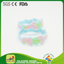best-selling mixed color silicone bracelet wrist band ruber bangle, wholesale silicone bangles