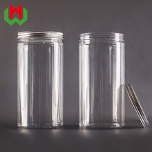 Factory Custom 300ml Round PET Plastic Jar Price