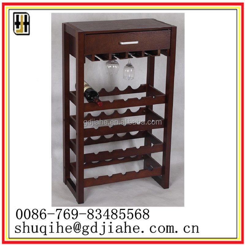living room Oak red Wine Cabinet Furniture