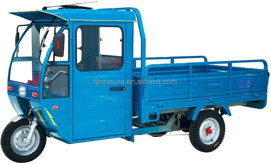 tricycle with roof/four wheel motorcycle price/e rickshaw