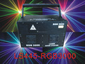 3W RGB full colors stage Laser light