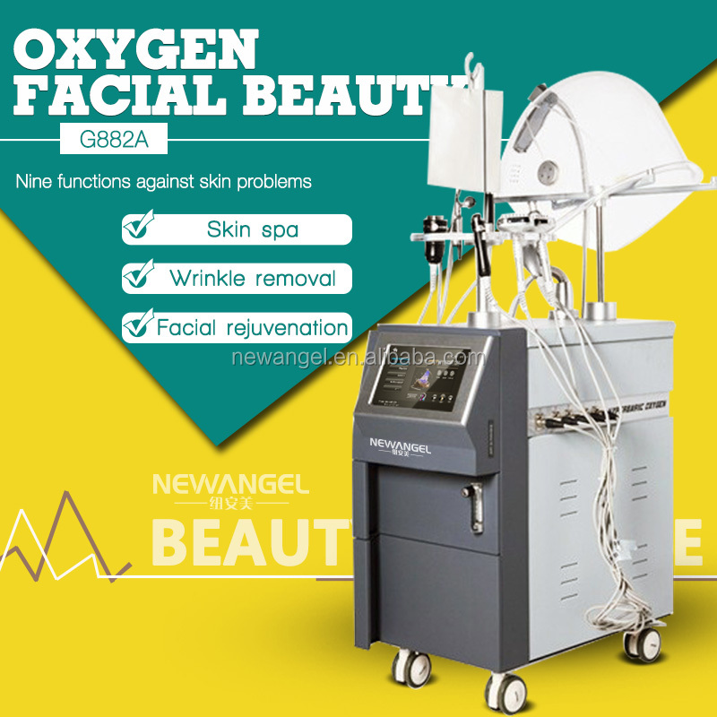 Water oxyegn jet peel beauty machine / oxygen facial system for body spa skin tightening