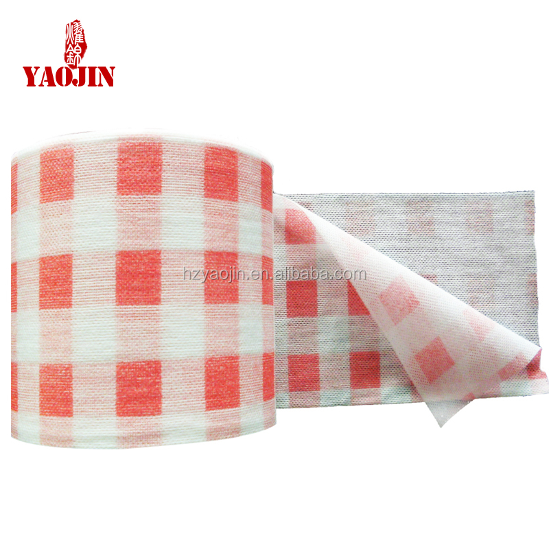 2016 Hot Sell Soft Non-Woven Disposable Face Cleansing Towel Beauty Towel Roll