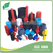 Different Families of PVC Valves Socked and Threaded Connection
