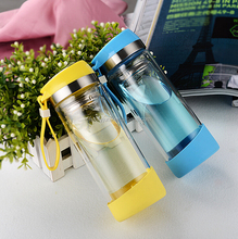 Hot sale 1 liter glass water bottle 10 gallon glass water bottle glass water bottle silicone