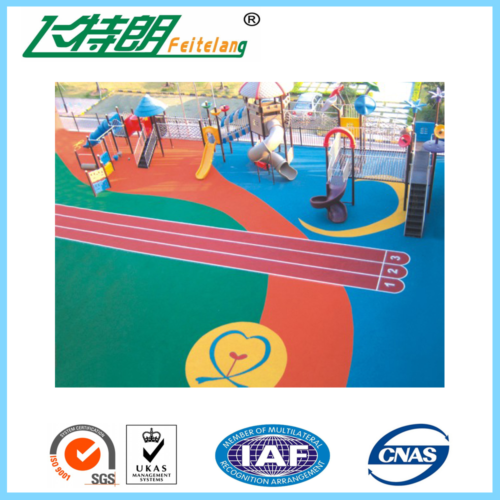 Nondiscoloring EPDM Rubber Granule for Rubber Running Track/Sport Court Floor/Rubber Tiles/Roll