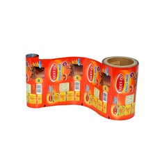 High barrier feature custom printing food grade aluminum foil plastic packaging film roll