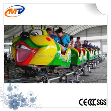 Caterpillar ride Indoor Kids Riding Eelctric Train for Shopping Malls Supermarket