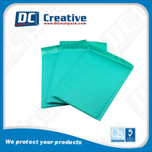 Top Grade Quality Customized Green Poly Padded Bubble Mailer Cheep air bubble envelope