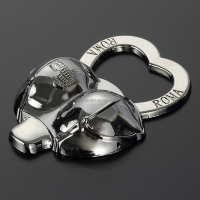 Promotional custom shape metal zinc alloy magnetic bra bottle opener