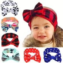 Kids hair accessories large bow hairband butterfly baby headband girls