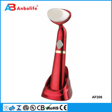 Anbolife silky soft fine bristle facial brush waterproof electric face brush more effective than hand wash