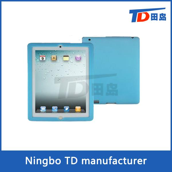 High quality silicone case for ipad 2/3/4