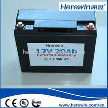 wholesale 12v 20ah lifepo4 bms replacement lithium ion battery for solar energy storage