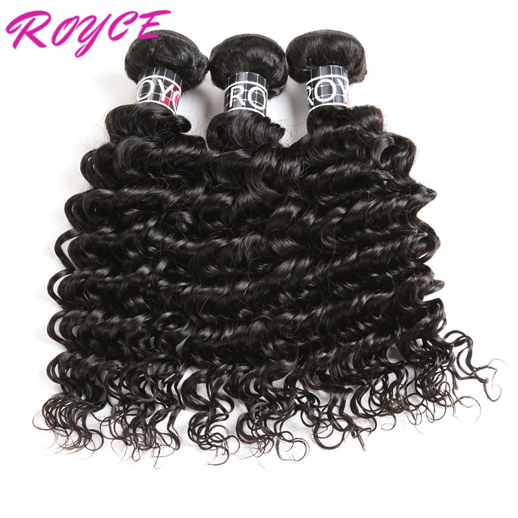 8a Grade Brazilian Hair Extensions, deep wave brazilian virgin hair