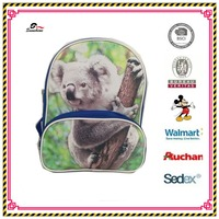 cute animal koala printing kids bag