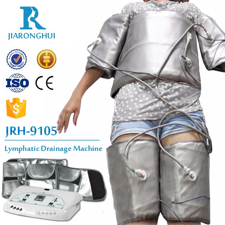 home use far infrared thermal pressure lymphatic drainage suit for weight loss