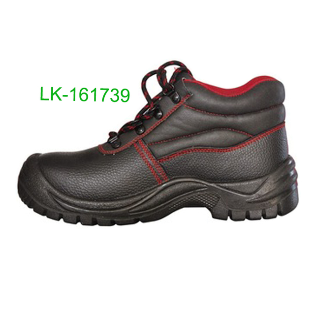 Embossed PU artificial leather brand cheap industrial safety shoes