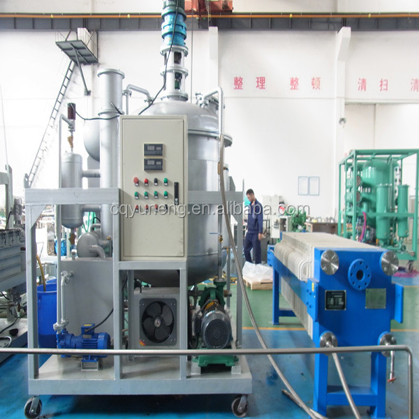 Used Waste Engine Oil Diesel Fuel Oil Recycling Equipment