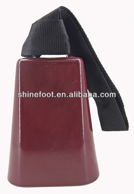 sports cowbell wholesale in many colors for sporting events /promotion with your own logo (A632)