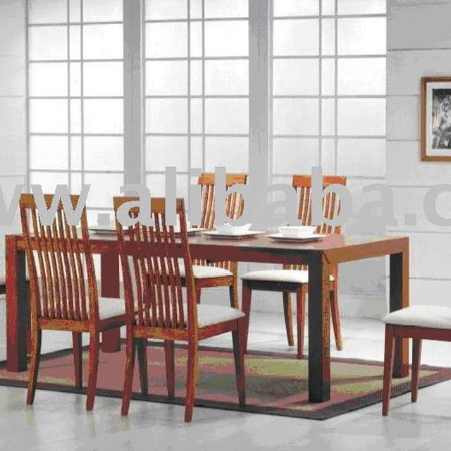 Jdd 7005 Micasa Dining Room Sets (1 Table 6 Chairs)