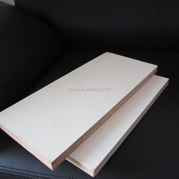 Eucalyptus core white melamine plywood