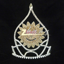 Wholesale cute pageant crown tiara for kids