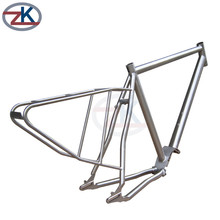 Annealed Customized gr9 cyclotrons titanium bike frame tube