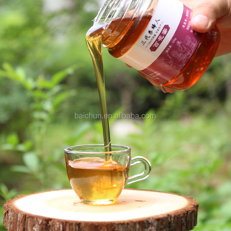 bulk honey of various flowers wild mature flowers honey with high qulaity for beauty skin care