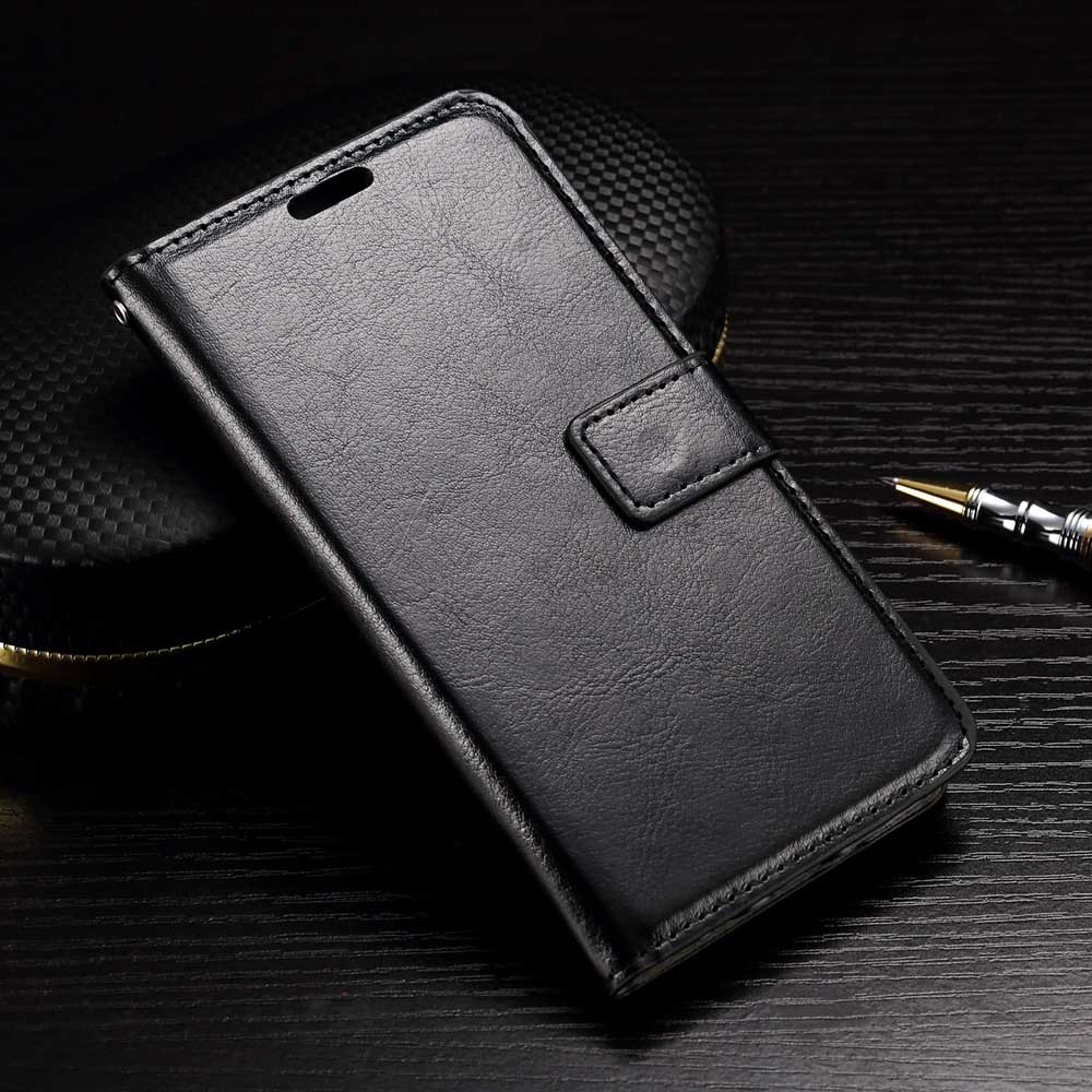 Wallet Leather Card Slot Flip Stand Cover Case For LG <strong>K10</strong>