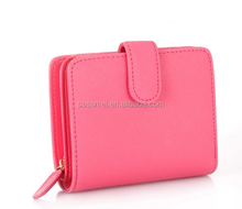 hot selling wallet for ladies,Saffiano leather wallet of ladies,unique wallet of ladies