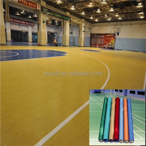 2016 hot sale top quality sports flooring for half basketball court with CE / ISO9001/ISO14001