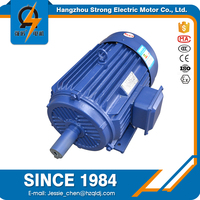 Three phase ac 1500rpm electirc specification 4 kw ventilation fan motor