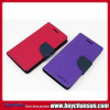 Cheap mobile phone case leather case for Sony Xperia E1