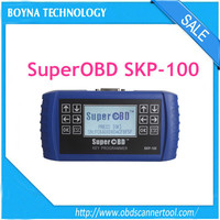 [100% original] SuperOBD SKP100 skp-100 Hand-Held OBD2 Key Programmer Remote and Smart Keys with car key programming software
