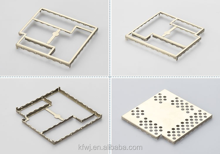 Customized progressive stamping nickel silver pcb shield for car