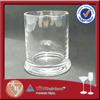 wholeasale high quality glass wall mounted candle holder