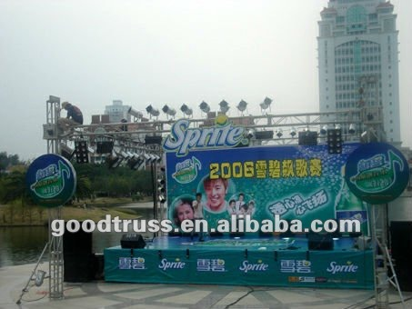 marketing promotion outdoor event truss