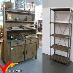 Wood Metal Retro Vintage Modern Industrial Wholesale Rustic Furniture