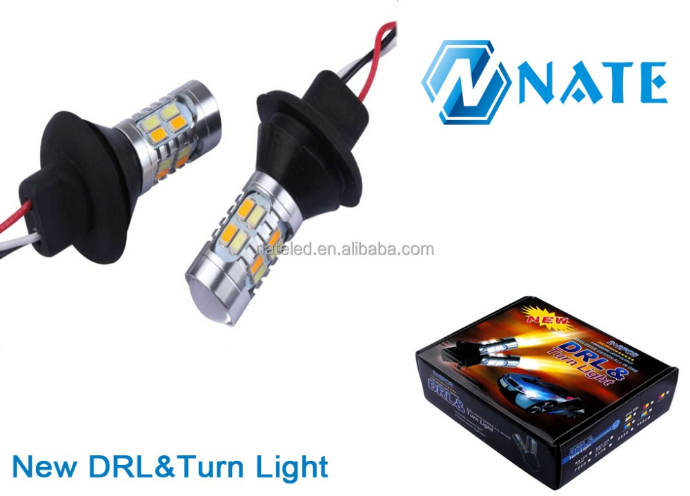 Car spare parts Daylight Led Daytime Running Auto Turn Single Light 12V Led Bulb